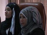 v mire biznesa Le hijab sur la tête, les
