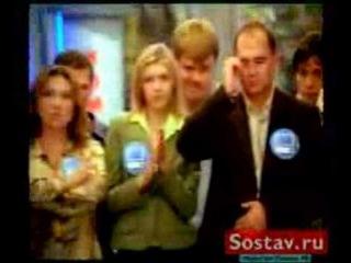 Артемий Лебедев в рекламе ТЦ 'Савеловский'