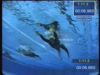 Ian Thorpe, virate, partenza, slow motion in acqua