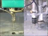 Гидроабразивная резка - Flow Dynamic Waterjet vs. Conventional.mpg