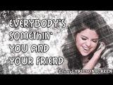 Selena Gomez & The Scene - Spotlight (Lyrics Video) HD