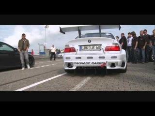 Manhart Racing M3 V8R Biturbo Manhart Day Nürburgring Nordschleife