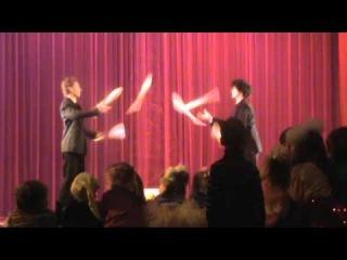 Жонглёры цирка
