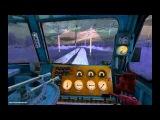 Ночная поездка на электровозе ВЛ10-1628 (Trainz 2010)