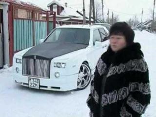 Казахстан настолько богат, что в селах ездят на Rolls-Royce