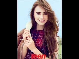 Lily Collins Teen Vogue Photoshoot 2011