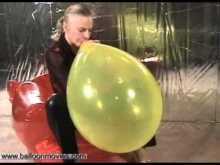 Секс фетиш воздушные шарики