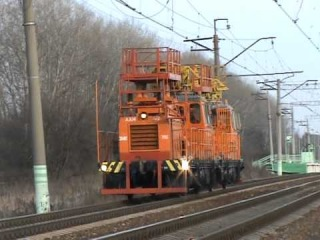 Автомотриса дизельная монтажная АДМ