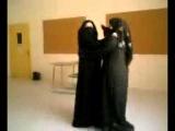 Saudi Arab Hot sexy girls in abaya dancing in University in class room must watch