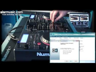 NUMARK MIXDECK DEMO/TUTORIAL: CD-AUDIO/MP3/USB/iPod PLAYER, MIDI CONTROLLER BY ALARMUSIC.COM