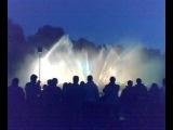 цветные фонтаны город Гамбург (Германия)