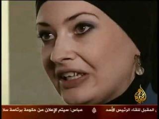 Nicole Queen on AlJazeera warabic.flv