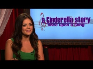 Exclusive Interview with Freddie Stroma, Lucy Hale, and the cast of A Cinderella Story