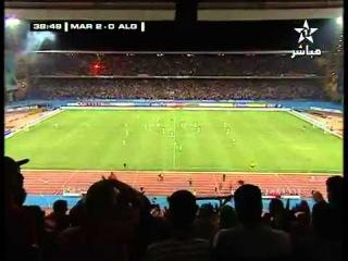 Maroc VS Algérie 4 - 0 Marrakech le 04/06/2011