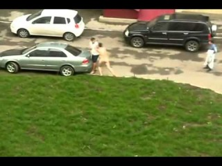 Naked Russian Guy - High Speed + Yakety Sax (Benny Hill Theme)