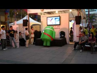 Танцующий робот , приятель петуха из Ростикса =)
