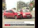 Две ТП на одинаковых авто не поделили перекресток (Красноярск)