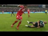 Axel Witsel fractura la pierna de Marcin Wasilewski