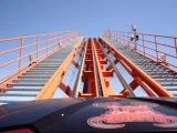 Six Flags Great America Raging Bull P.O.V.