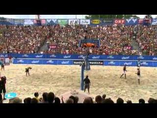 Cunha-Ricardo BRA Brink-Reckermann GER 2-1 (21-19, 18-21, 15-9) Final Klagenfurt Grand Slam 2011