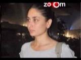 Saif Ali Khan & Kareena Kapoor look distressed at the airport