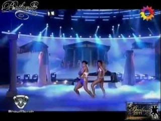 Strip Dance de Cinthia Fernandez 03/10/11 Desnudo - Showmatch HD - Bailando - El Trece (Canal 13)