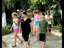 Отдых на Черноморском побережье Грузии для двух десятков подростков из Чечни и Ингушетии.