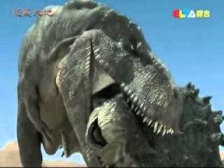 Битва  тарбозавра  и   пинакозавра