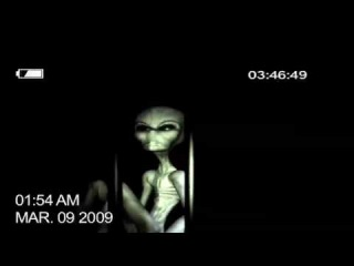 Grey alien caught on tape!!! (CGI ANIMATION)