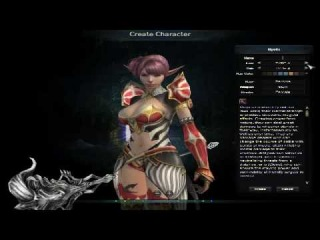 Karos Online Character Creation April 2010 MMORPG Free to Play Close Beta