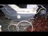 Classic Pram Wilson Antibes Restored by Mors Ouderwetse Kinderwagens