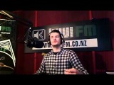 Lucy Lawless live on the set of Spartacus: Gods of the Arena 9-9-10 Radio Wammo Show, Kiwi FM