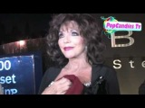 Joan Collins leaving SoHo House in West Hollywood!