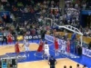Новую победу одержала сборная России на ЧЕ по баскетболу в Литве - Первый канал