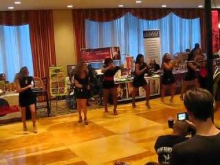 Burju shoes runway show at NYC salsa congress 2010