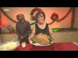 Hornswoggle steals Vickie Guerrero's Christmas Dinner