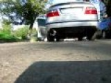 SAAB 9-5 Aero Race Exhaust Idle