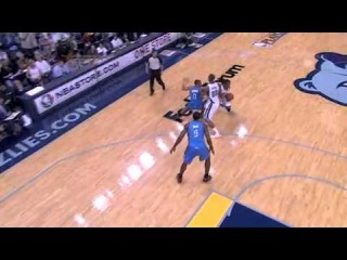Darrell Arthur AMAZING dunk over Nick Collison (May 13, 2011)