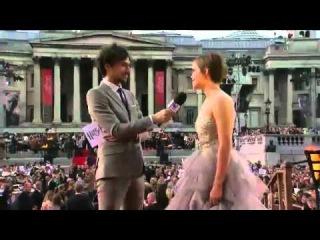 Премьера Фильма Гарри Поттер и Дары Смерти Часть Вторая в Лондоне - Интервью 2 2011