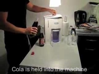 Тест фильтра Никкен. Чистая вода из кока-колы.