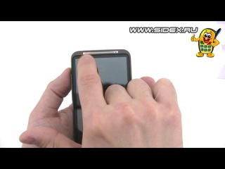 Sidex.ru: Видеообзор HTC Desire HD A9191