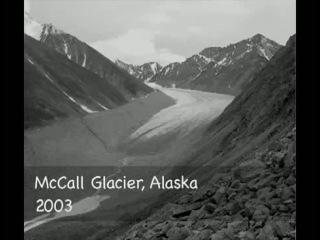 Тающие ледники Аляски - глобальное потепление