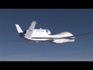 Контрольный полет БПЛА RQ-4 Global Hawk