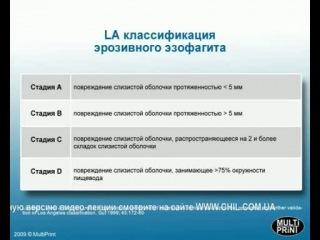 Эрозивный эзофагит. ЛА классификация.