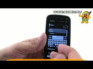Sidex.ru: Видеообзор смартфона Nokia XpressMusic 5800 Navi