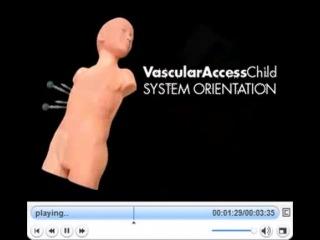 Манекен для катетеризации центральных вен (УЗИ,5 лет)