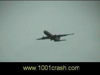 Помпаж левого двигателяAirbus-A330