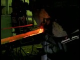 слив металла из ПРНО(плавка шлака)