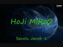 Hoji Mirzo - Savolu Javob 01