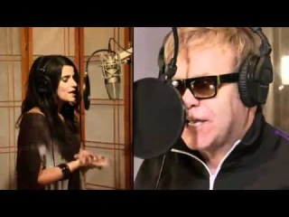Nelly Furtado and Elton John - Crocodile Rock from Gnomeo & Juliet - In HD